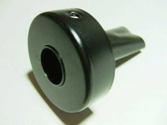ショート管用バッフル黒