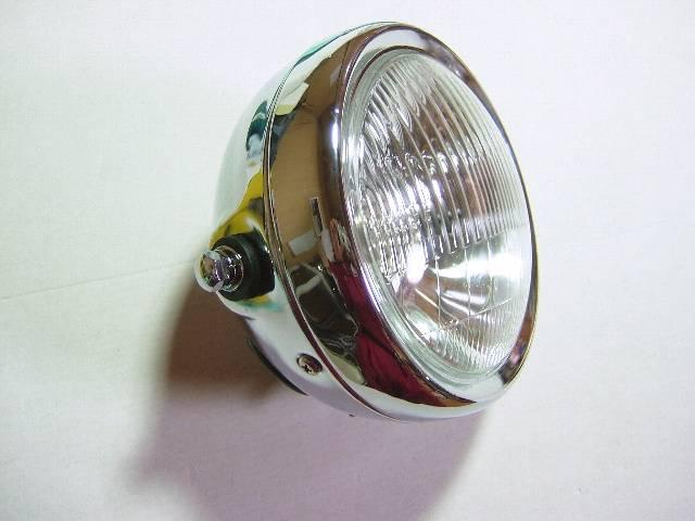 メッキ6.5インチ ライト