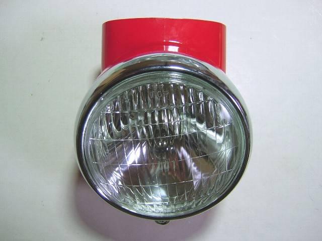 ライト付ハウジング赤 DAXシャリー用