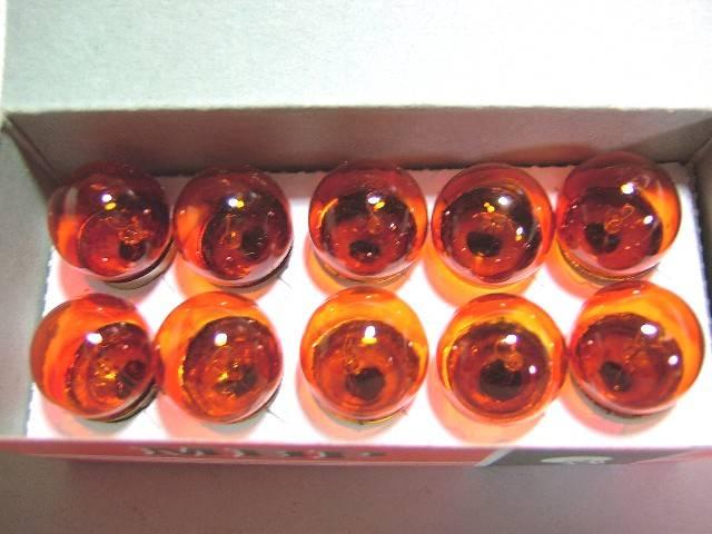 ウィンカー球 6V オレンジ 10入り