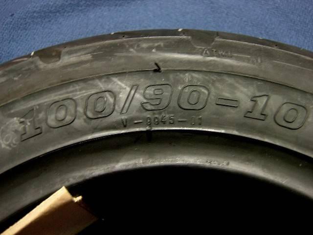 スポーツタイヤ 100/90-10