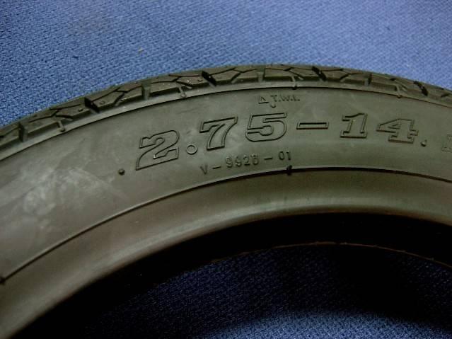 タイヤF275-14