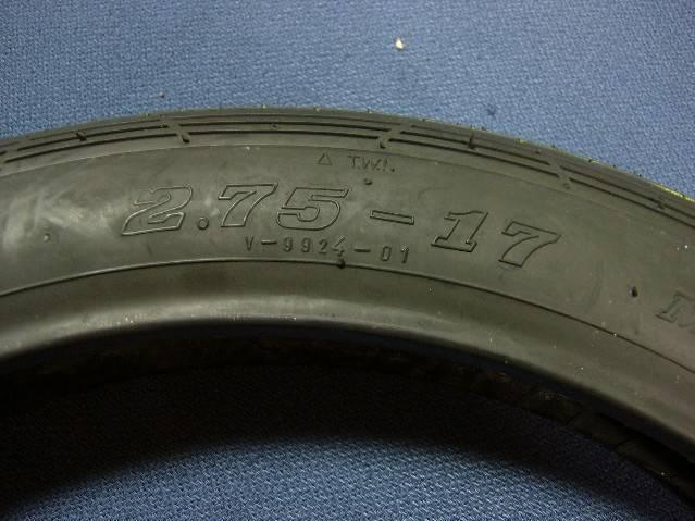 タイヤF275-17