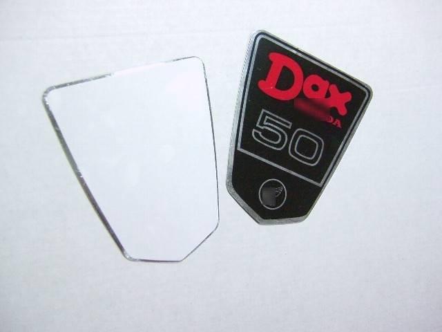 DAX50アルミステッカー