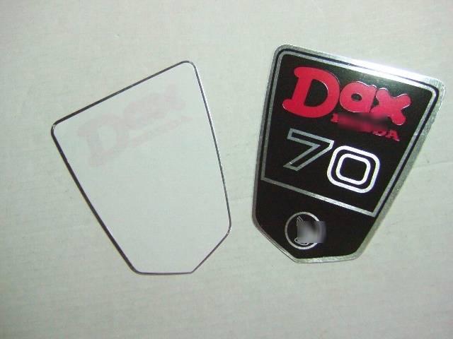 DAX70アルミステッカー