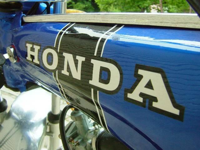 DAX首ステッカー白黒HONDA