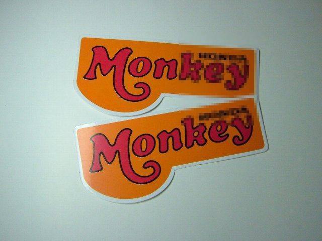 Monkeyステッカー2入