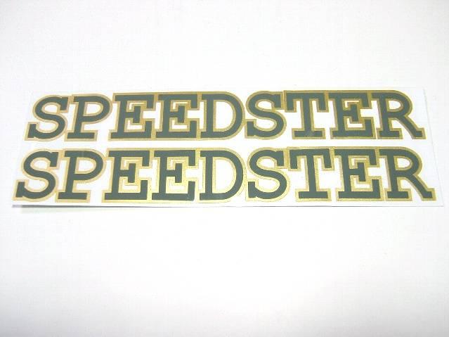 スピードスターステッカーグレー
